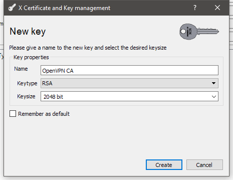 xca-new-cert-new-key